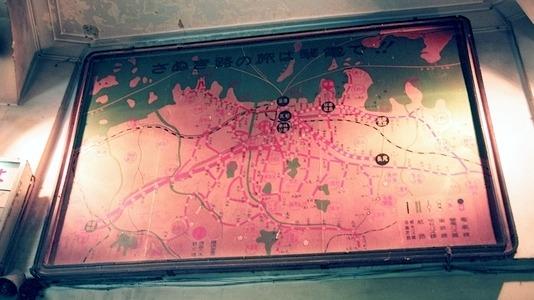 高松琴平電気鉄道  瓦町駅旧駅舎_e0030537_18561860.jpg