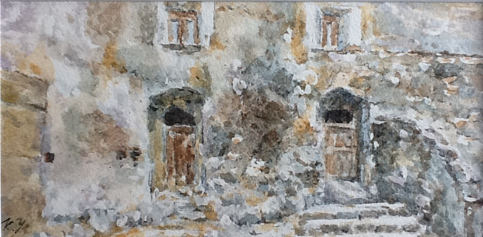 Calabria: portali, finestre, archi e luoghi mistici ~五感で感じるカラブリア~ 講演+水彩画展示_a0281139_0202794.jpg