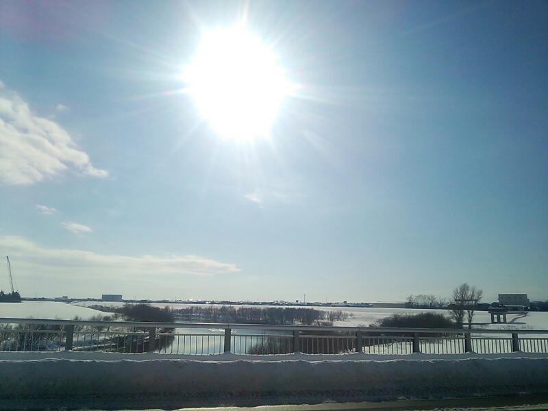 雪かき~_e0159646_13204424.jpg