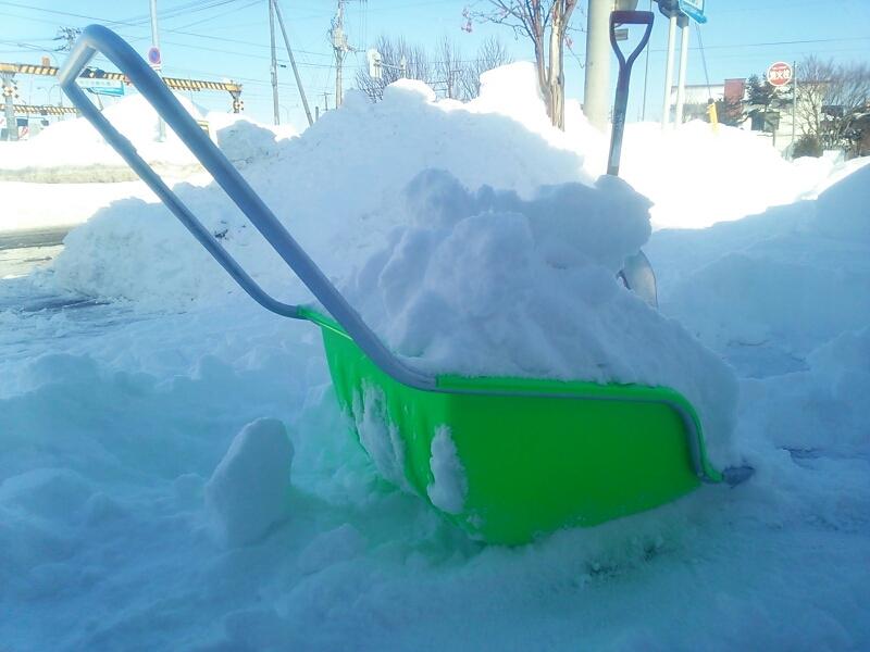 雪かき~_e0159646_13261741.jpg