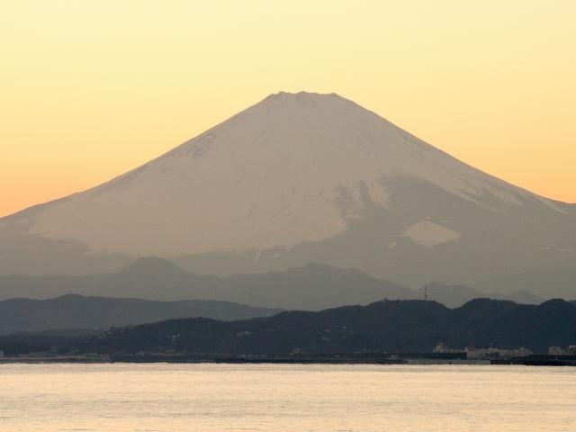 富士山の夕景_a0257652_16231741.jpg