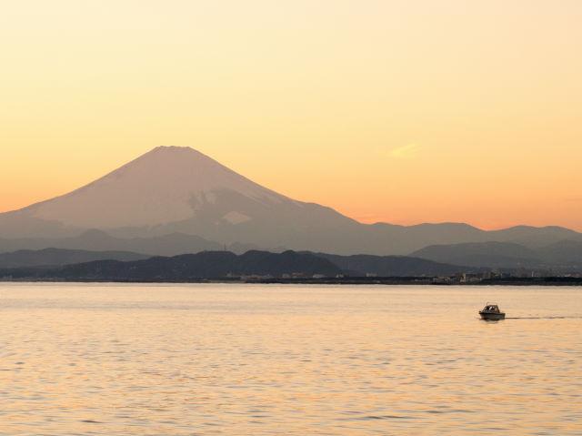 富士山の夕景_a0257652_16232878.jpg