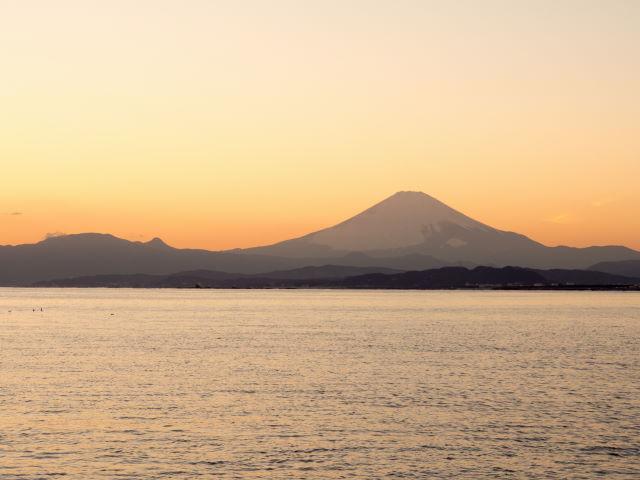 富士山の夕景_a0257652_16312941.jpg