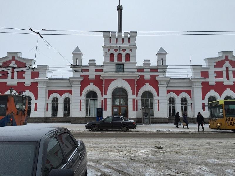 【ロシア鉄道駅】ボログダ_f0169061_23545035.jpg