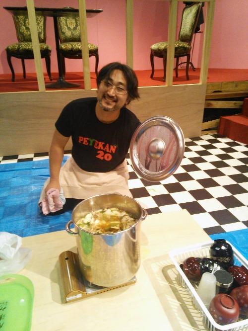 濱田さんの濱鍋_a0163623_21104010.jpg