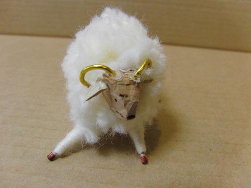 ポンポン人形 ~ 干支 羊 ~_e0222340_17444228.jpg