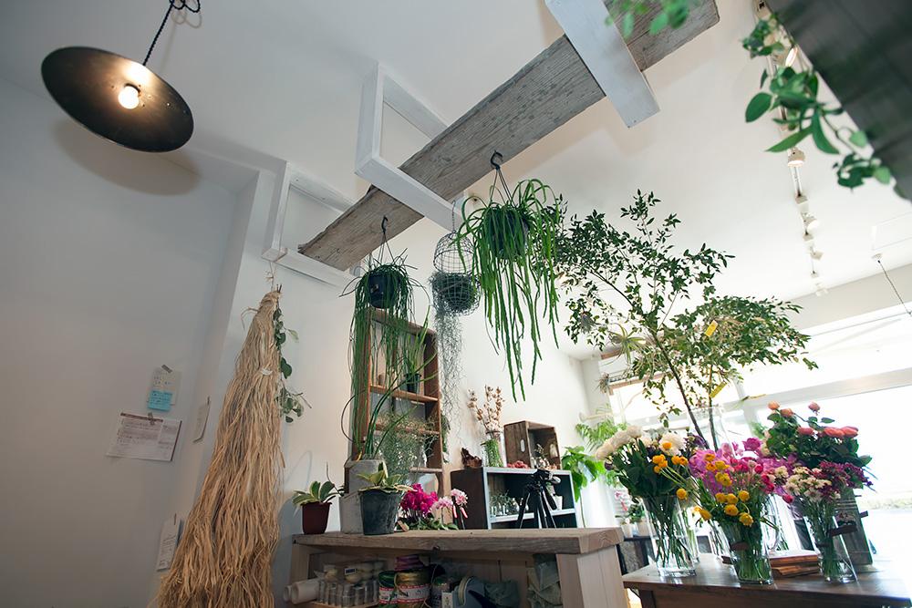 事務所改装で、レトロ新しい花屋さんに! -後編-_a0163962_1501360.jpg