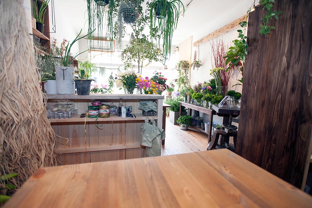 事務所改装で、レトロ新しい花屋さんに! -後編-_a0163962_1501691.jpg