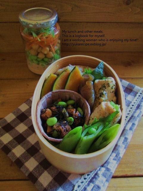 1.26 常備菜弁当とジャースイーツ♪_e0274872_06460776.jpg