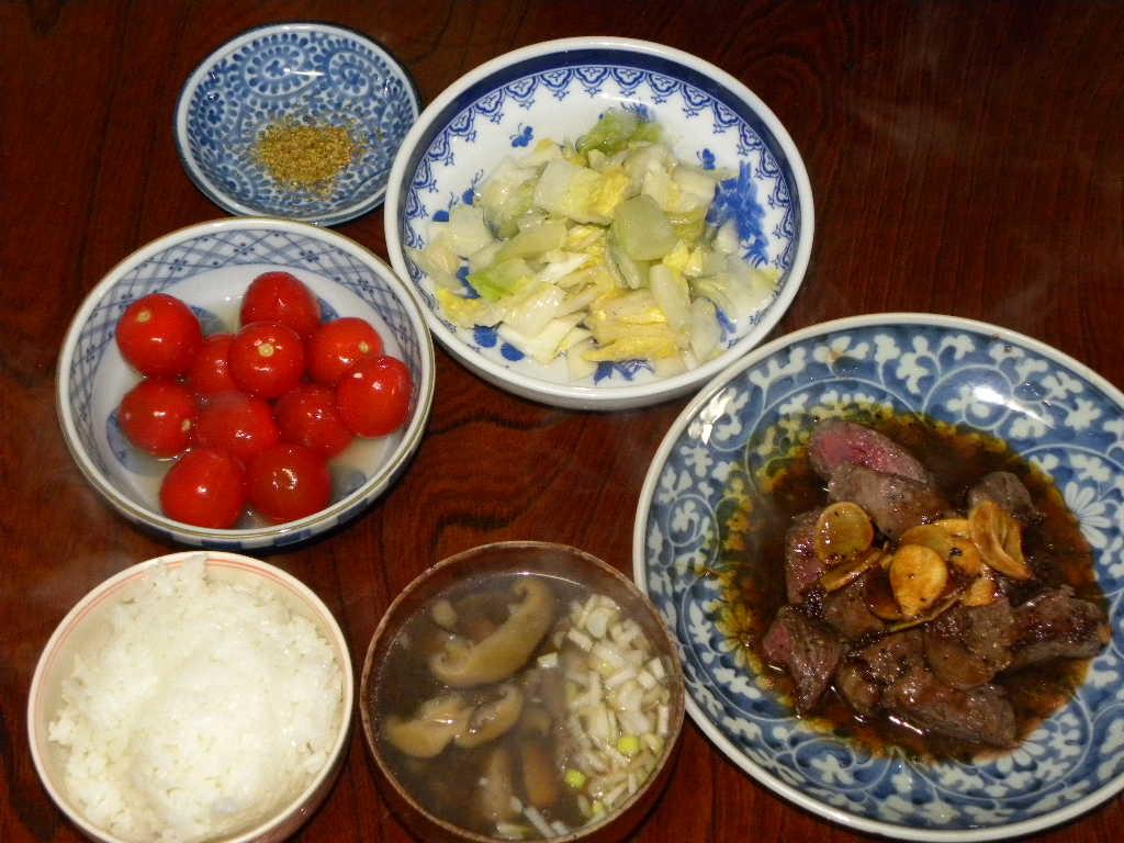 ステーキ定食_c0162773_10492749.jpg