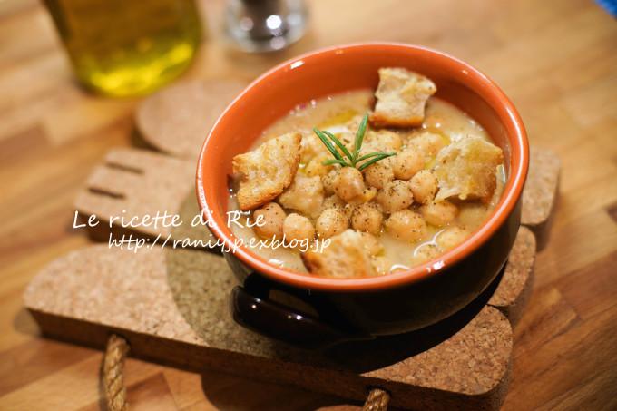 """Zuppa di ceci 冬のイタリア料理 \""""ひよこ豆スープ\""""_b0246303_06184296.jpg"""