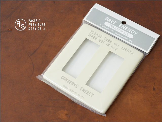 PACIFIC FURNITURE SERVICE [パシフィックファニチャーサービス] SWITCH PLATE -CARVING [SW26] _f0051306_17252157.jpg