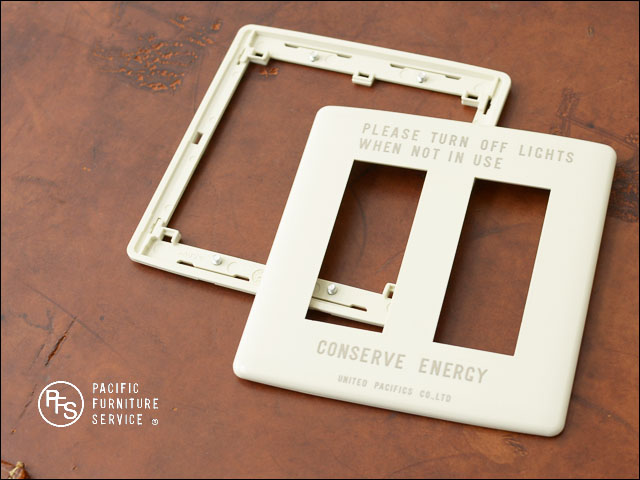 PACIFIC FURNITURE SERVICE [パシフィックファニチャーサービス] SWITCH PLATE -CARVING [SW26] _f0051306_1725380.jpg