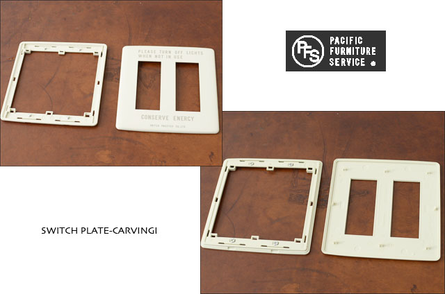 PACIFIC FURNITURE SERVICE [パシフィックファニチャーサービス] SWITCH PLATE -CARVING [SW26] _f0051306_1725683.jpg