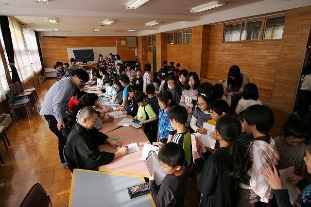 おとどけアート 北陽小学校×風間天心 2月21(金) 最終日_a0062127_12204131.jpg