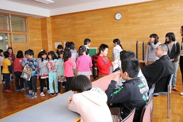おとどけアート 北陽小学校×風間天心 2月21(金) 最終日_a0062127_12204162.jpg