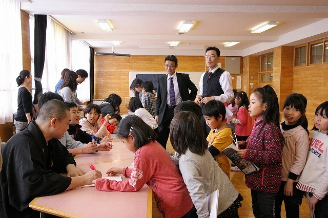 おとどけアート 北陽小学校×風間天心 2月21(金) 最終日_a0062127_12204185.jpg