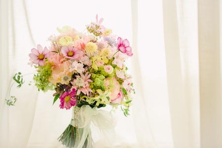 「私は、大喜びでした」 お花直しの 二つのブーケ ホテルマンハッタン様へ_a0042928_6105852.jpg