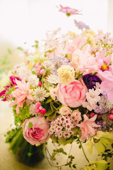 「私は、大喜びでした」 お花直しの 二つのブーケ ホテルマンハッタン様へ_a0042928_6143563.jpg