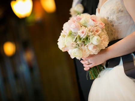 「私は、大喜びでした」 お花直しの 二つのブーケ ホテルマンハッタン様へ_a0042928_634923.jpg
