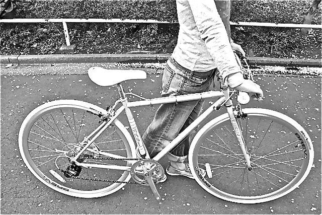 MASI マジィ CAFFE RACER UNO RISER 2015 カフェレーサーウノライザー クロスバイク おしゃれ 自転車 女子_b0212032_19421843.jpg