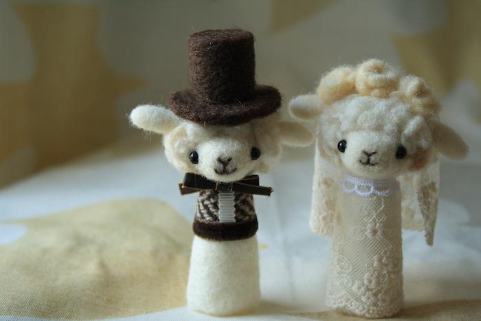 「羊毛フェルトでプチ・ボヌール」のricoさん登場!_c0039735_073378.jpg