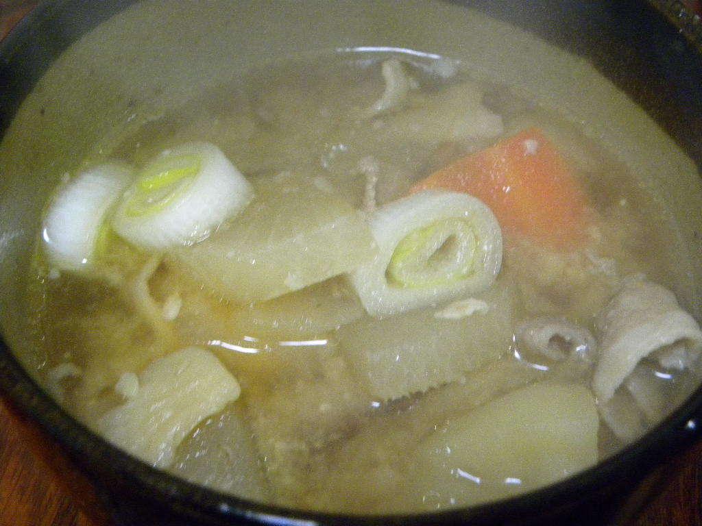 豚汁定食_c0162773_15185601.jpg