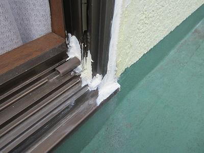 雨漏りの原因『経年劣化した窓』に テラス設置~!_e0123286_17391348.jpg