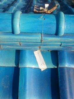 板橋区の徳丸で、破損瓦取替工事_c0223192_21253212.jpg