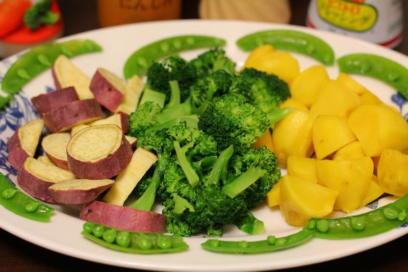 サラダ 温 野菜