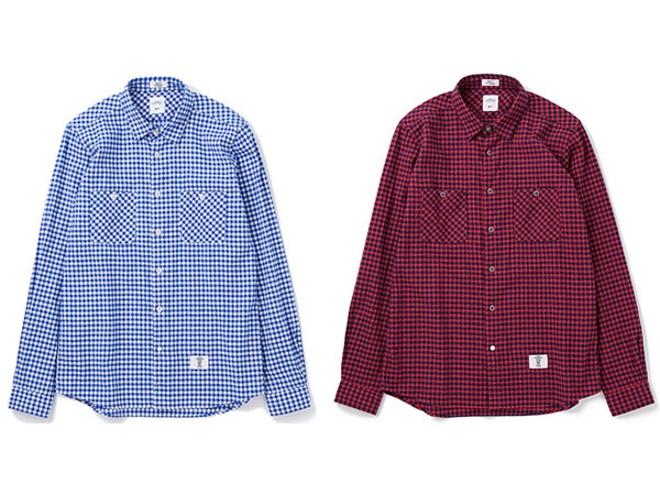 L/S FLANNEL GINGHAM CHECK SHIRT _a0076701_1634227.jpg