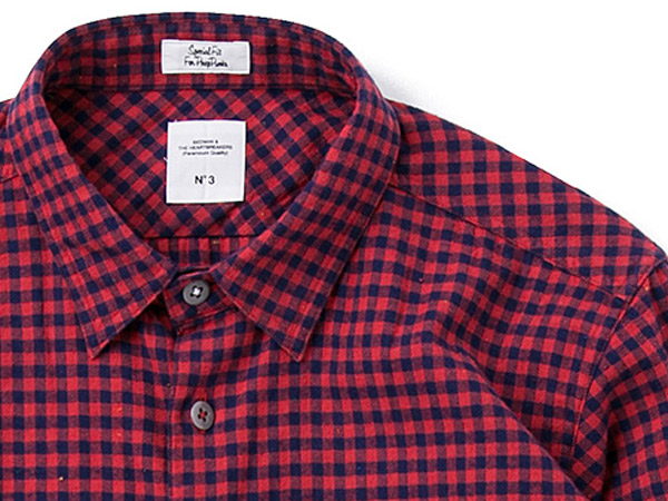 L/S FLANNEL GINGHAM CHECK SHIRT _a0076701_16363053.jpg