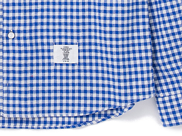 L/S FLANNEL GINGHAM CHECK SHIRT _a0076701_16365788.jpg