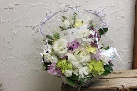 お供え花 その2_d0227610_20030353.jpg