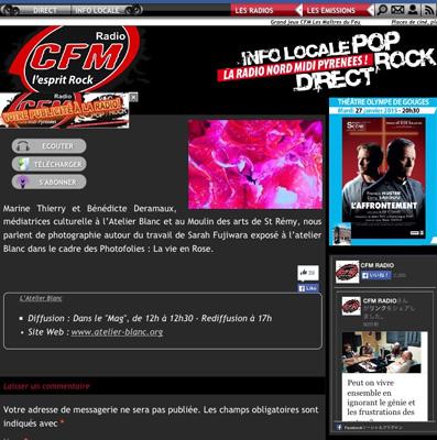 On the radio in France !_c0212911_204638.jpg