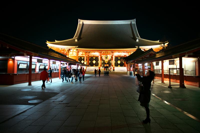 ASAKUSA  ・・・夜の浅草寺・・・_f0333031_07134065.jpg