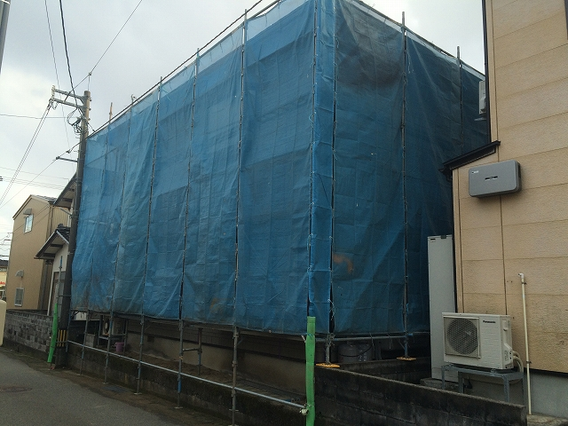 「外部廻り工事」@内灘_b0112351_16294947.jpg