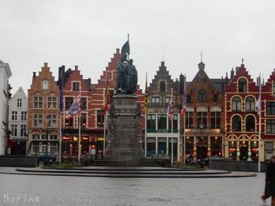ベルギー・オランダの旅6~雨の中のブルージュ_e0326953_146241.jpg