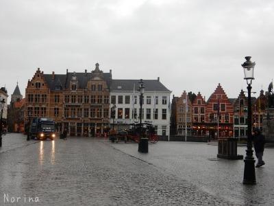 ベルギー・オランダの旅6~雨の中のブルージュ_e0326953_146372.jpg