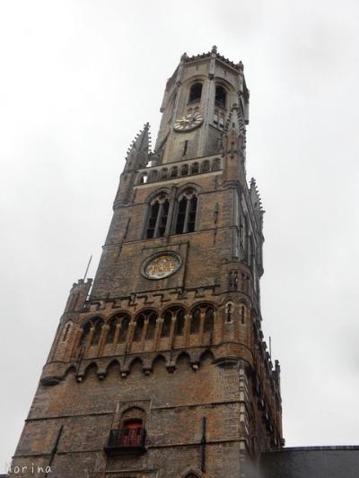 ベルギー・オランダの旅6~雨の中のブルージュ_e0326953_1491056.jpg