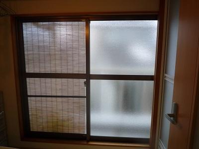 結露がすごかったベランダの窓が リモデルウィンドウで~☆_e0123286_18495084.jpg