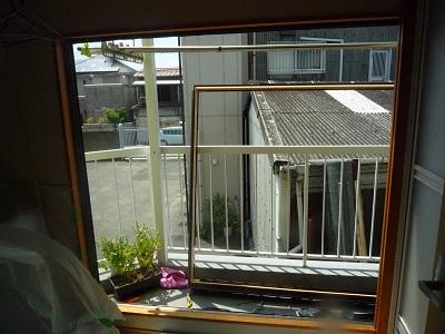 結露がすごかったベランダの窓が リモデルウィンドウで~☆_e0123286_1972085.jpg
