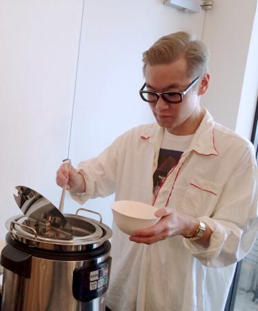 河原シンスケくん展 スープの日。@AL_f0164187_744366.jpg