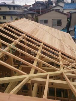 板橋区の赤塚で、屋根下地工事_c0223192_211242100.jpg