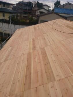 板橋区の赤塚で、屋根下地工事_c0223192_21155924.jpg