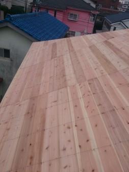 板橋区の赤塚で、屋根下地工事_c0223192_21161321.jpg