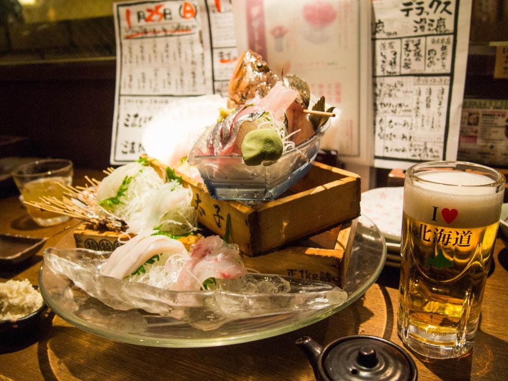 たまに都会(札幌)へ行ってみたいな(1)~奥芝商店・海さくら~_f0276498_00221662.jpg