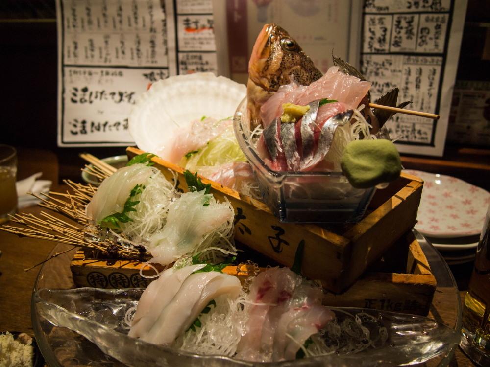 たまに都会(札幌)へ行ってみたいな(1)~奥芝商店・海さくら~_f0276498_00254602.jpg