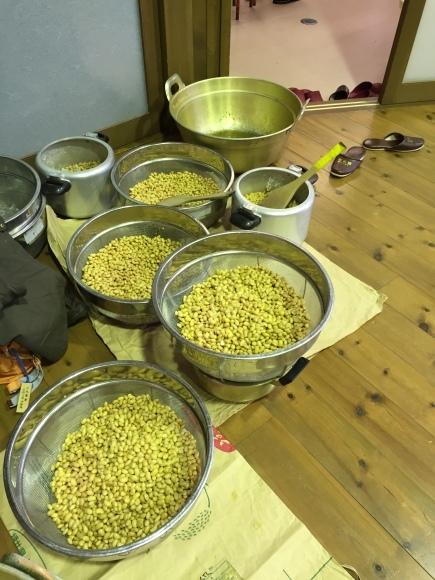 『大豆の加工の体験してみたよ!!』南中山小学校3年生の皆さん_e0061225_16321350.jpg
