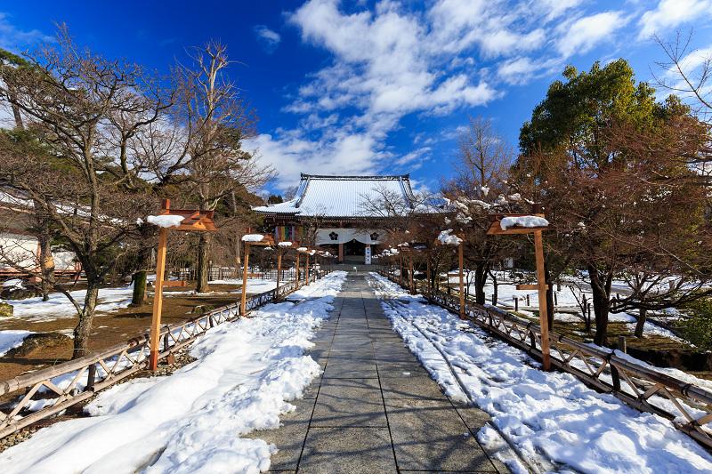 雪景色・智積院_f0155048_22211941.jpg